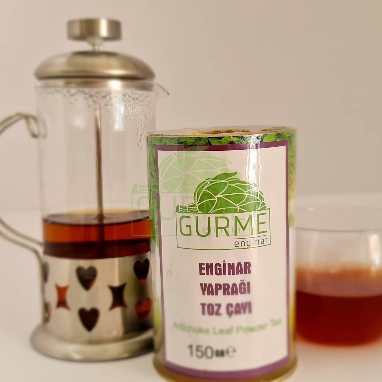 Enginar Yaprağı Toz Çay